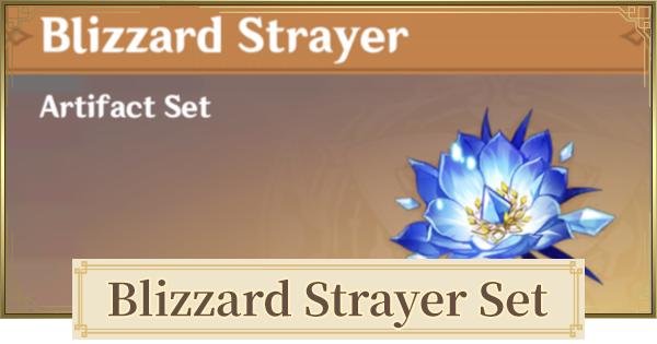Blizzard Strayer Set Set - Location & Stats | Genshin Impact - GameWith