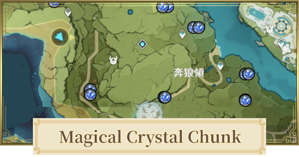 Magical Crystal Chunk - Location & Respawn Time | Genshin Impact - GameWith