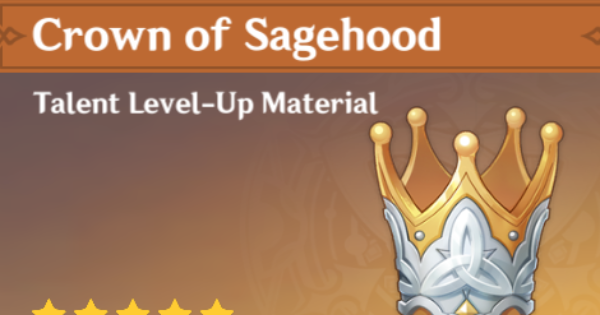 Crown Of Sagehood - Location & How To Get | Genshin Impact - GameWith