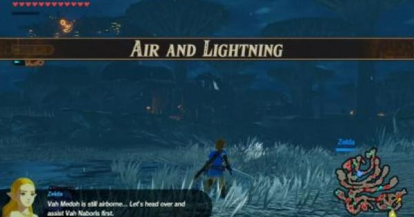 Air And Lightning - Chapter 5 Walkthrough | Hyrule Warriors Age of Calamity - GameWith