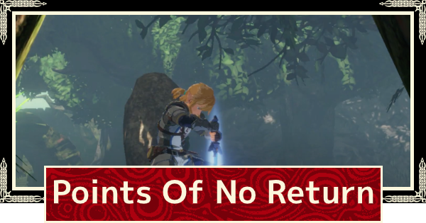 Points Of No Return Hyrule Warriors Age Of Calamity Gamewith