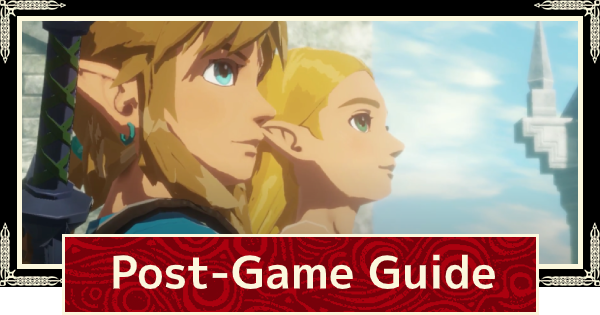 Post Game Guide - What To Do After Beating The Game | Hyrule Warriors Age of Calamity - GameWith