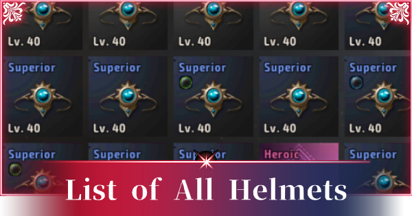 A3: STILL ALIVE | All Helmets List - Stats & How To Get - GameWith
