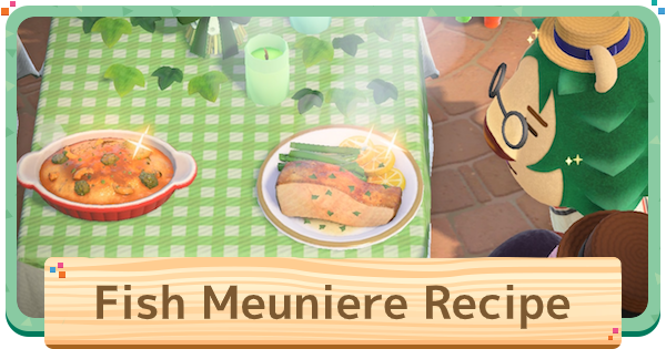 ACNH | Fish Meuniere - Recipe & How To Make | Animal Crossing - GameWith