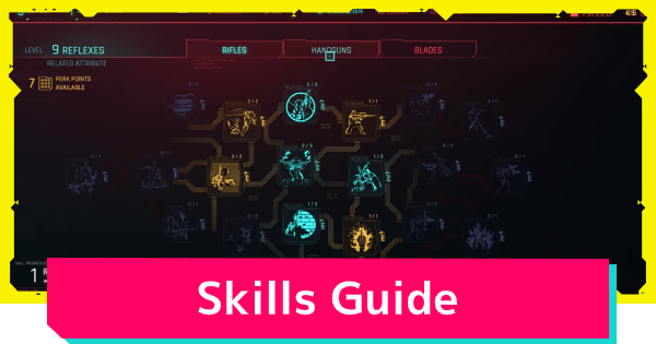 Cyberpunk 2077 | Skills List - How To Level Up Guide - GameWith