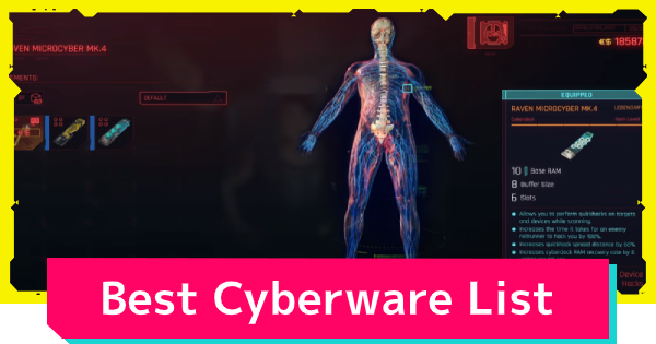 Cyberpunk 2077 | Best Cyberware List - GameWith