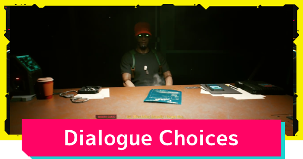 Cyberpunk 2077 | Choices Matter Guide - Choices and Consequences - GameWith