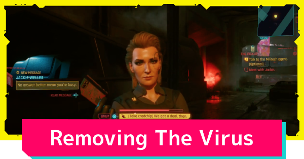 Cyberpunk 2077 | How To Remove The Virus From The Chip - GameWith