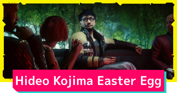 Cyberpunk 2077 | Where To Find Hideo Kojima - Hidden Easter Egg - GameWith