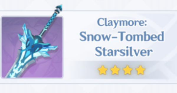 Snow-Tombed Starsilver - How To Get & Stats | Genshin Impact - GameWith