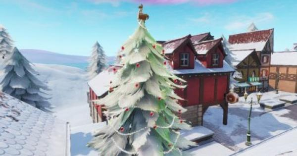 Fortnite | Dance In Front Of Different Holiday Trees - 14 Day Challenge
