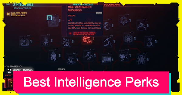 Cyberpunk 2077 | Intelligence Perk List - Best Perks & Details - GameWith