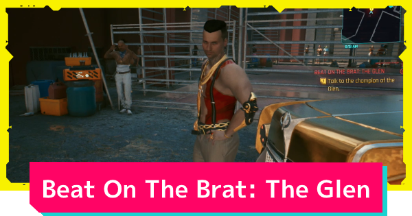 Cyberpunk 2077 | The Glen (Beat On The Brat) - Side Job Quest Guide - GameWith