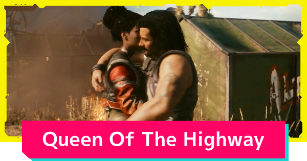 Cyberpunk 2077 | Queen Of The Highway - Side Job Quest Guide - GameWith