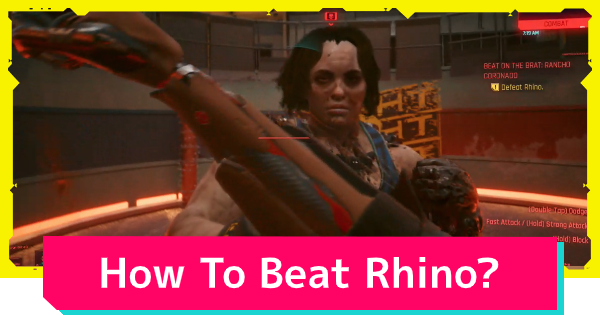 Cyberpunk 2077 | How To Beat Rhino - Boss Fight Tips & Strategy - GameWith