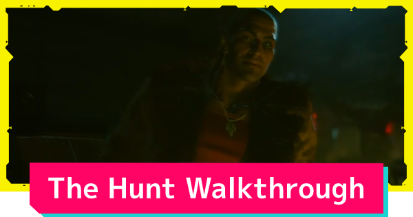 Cyberpunk 2077   The Hunt - Side Job Quest Guide & Braindance Clues - GameWith