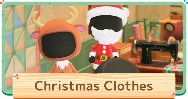 ACNH | Christmas Clothes - List Of Toy Day Outfits | Animal Crossing - GameWith
