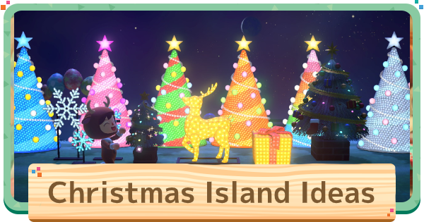 ACNH | Christmas Island Design Ideas | Animal Crossing - GameWith