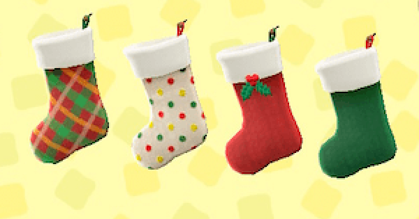 ACNH | Toy Day Stockings - How To Get & Price | Animal Crossing - GameWith