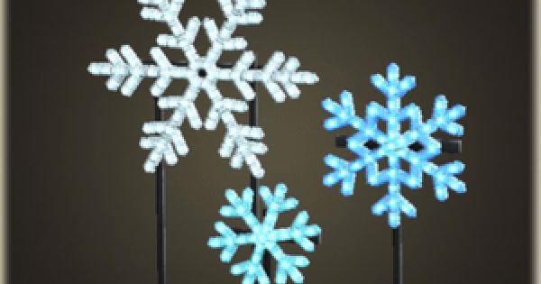 ACNH | Illuminated Snowflakes - How To Get DIY Recipe & Required Materials | Animal Crossing - GameWith