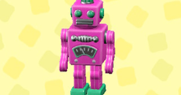 ACNH | Tin Robot - Price & Color Variations | Animal Crossing - GameWith