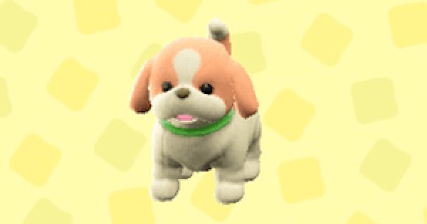 ACNH | Puppy Plushie - Price & Color Variations | Animal Crossing - GameWith
