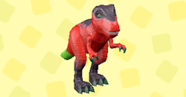 ACNH | Dinosaur Toy - Price & Color Variations | Animal Crossing - GameWith