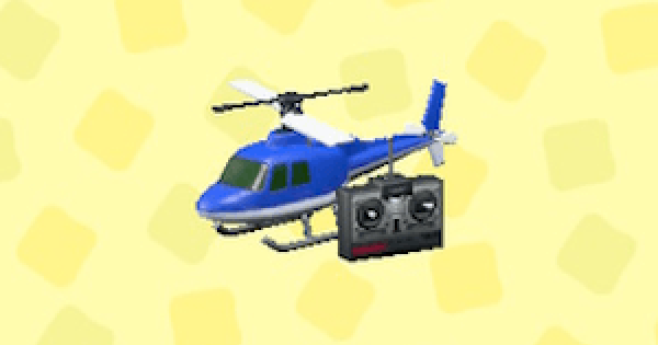 ACNH | RC Helicopter - Price & Color Variations | Animal Crossing - GameWith