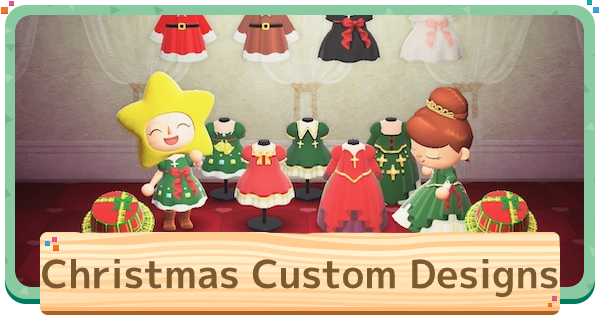 ACNH | Christmas Custom Design Codes | Animal Crossing - GameWith