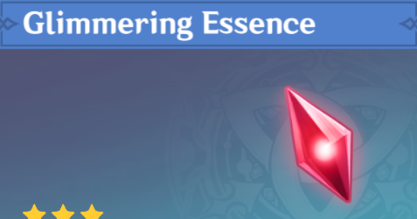Glimmering Essence - Location & How To Farm | Genshin Impact - GameWith