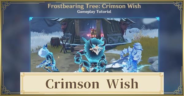 Crimson Wish - Reset Time & How To Unlock | Genshin Impact - GameWith