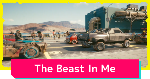 The Beast In Me - Side Job Quest Guide