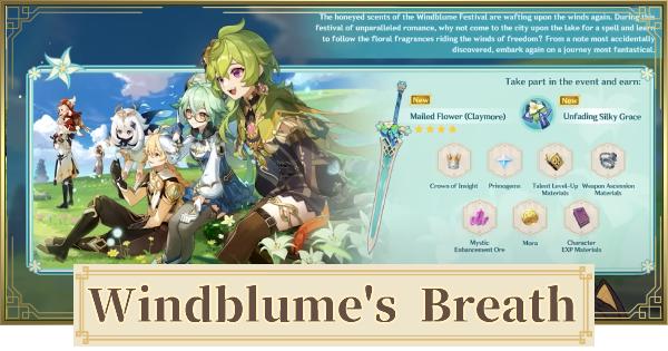 Windblume Festival (Invitation To Windblume) - Release Date & Mini-Games | Genshin Impact - GameWith