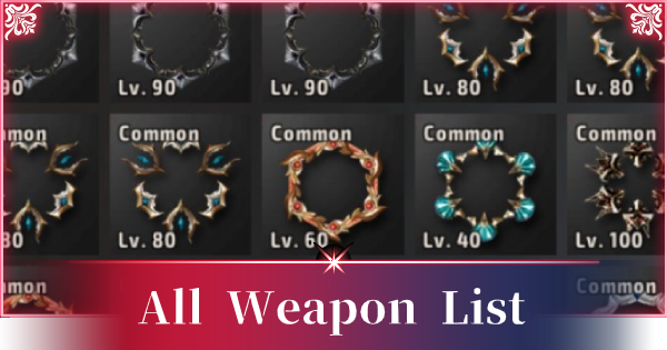 A3: STILL ALIVE | All Weapon List - GameWith