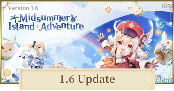 1.6 Update - New Contents & Patch Notes