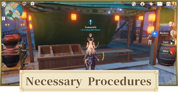 Necessary Procedures World Quest Walkthrough Guide | Genshin Impact - GameWith