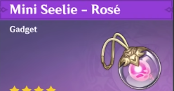 Mini Seelie - Rose - How To Get & Uses | Genshin Impact - GameWith