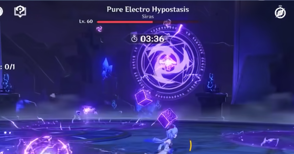 Violet Lightning Concerto - How To Defeat Pure Electro Hypostasis