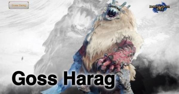 MONSTER HUNTER RISE | Goss Harag - New Info & Attack Patterns | MH Rise - GameWith
