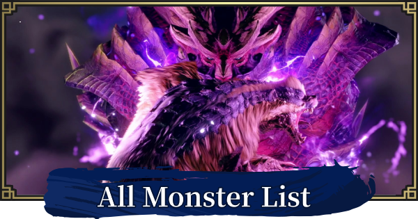 All Monsters List