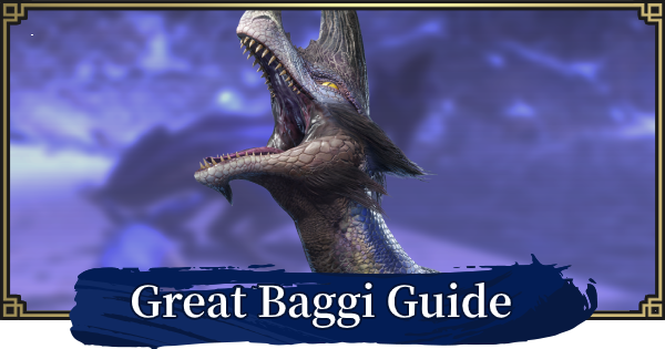 MONSTER HUNTER RISE | Great Baggi - Weakness & Basic Info | MH Rise - GameWith