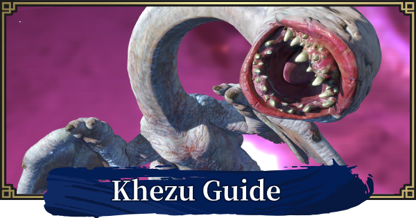 Khezu Guide - Weakness & Obtainable Items | MONSTER HUNTER RISE - GameWith