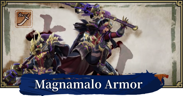 MONSTER HUNTER RISE | Magnamalo Armor & Weapons | MH Rise - GameWith