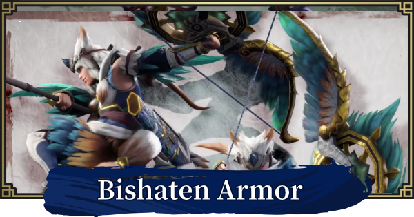 MONSTER HUNTER RISE | Bishaten Armor & Weapons | MH Rise - GameWith