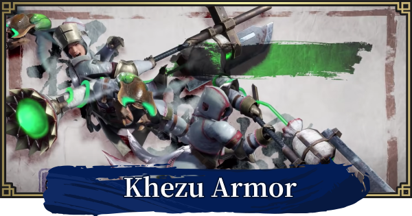 MONSTER HUNTER RISE | Khezu Armor & Weapons | MH Rise - GameWith