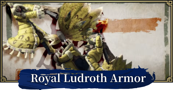 MONSTER HUNTER RISE | Royal Ludroth Armor & Weapons | MH Rise - GameWith