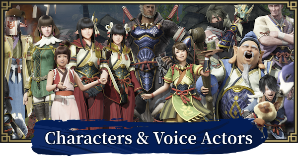 MONSTER HUNTER RISE | Character List & Voice Actors | MH Rise - GameWith