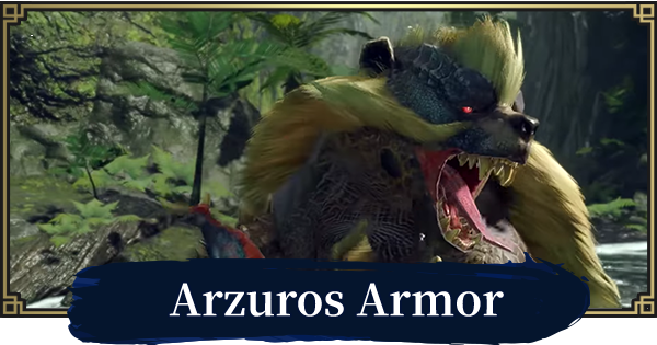 MONSTER HUNTER RISE   Arzuros Armor & Weapons   MH Rise - GameWith