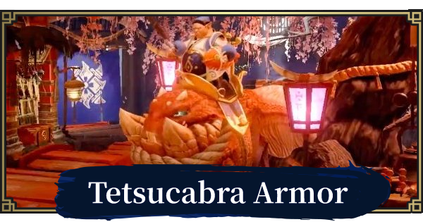 MONSTER HUNTER RISE | Tetsucabra Armor & Weapons | MH Rise - GameWith