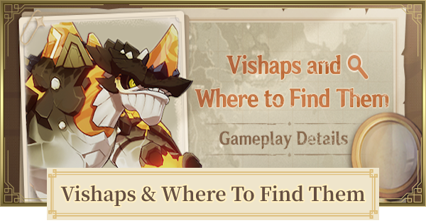 Vishaps and Where To Find Them Event Guide